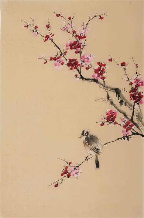 cherry blossom branch speed painting the 25 best bird paintings ideas on bird