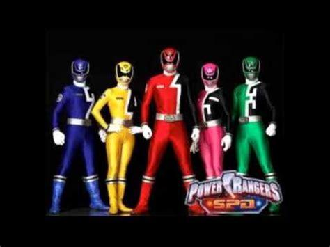 theme songs power rangers power rangers s p d theme song youtube