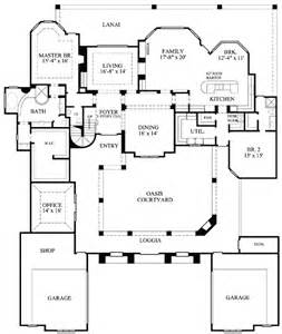 Floor Plans With Courtyard by Plan W67120gl Luxury Courtyard Stunner E Architectural