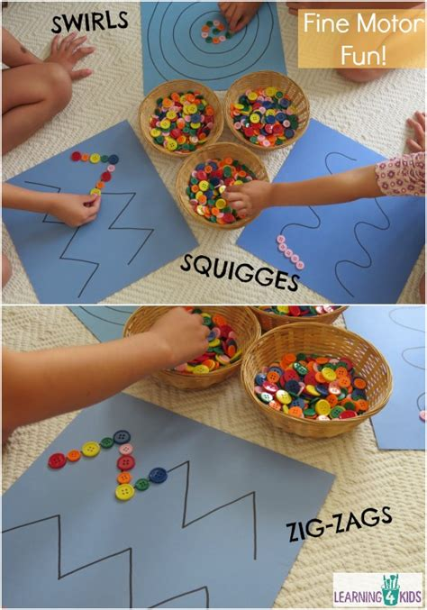 pattern games for toddlers fine motor work station or centre activity learning 4 kids