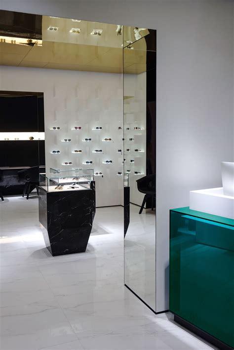 ippolito fleitz bolon eyewear flagship store by ippolito fleitz yellowtrace