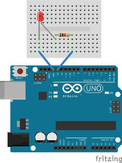 tutorial arduino basic getting started with the arduino controlling the led