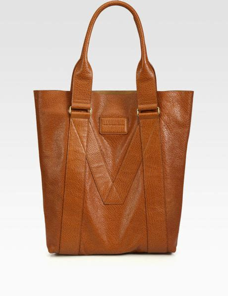 Marc By Marc Standard Supply Tote by Marc By Marc M Standard Supply Leather Tote Bag In