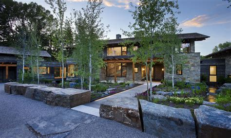 rustic wood  stone homes wood  stone home designs