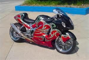 Custom Suzuki Motorcycles Suzuki Gsxr 1300 Custom Paint Custom Motorcycles