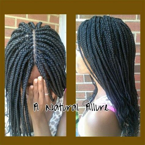 Crochet Braid In Hartford Ct | medium mid back length box braids installed with 4 3 4