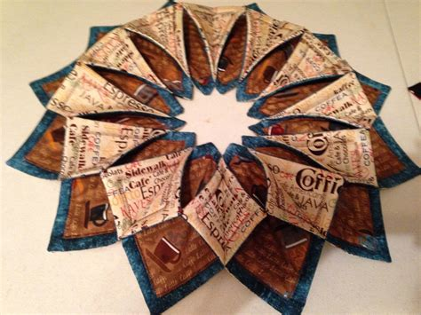 Origami Sewing Table - stitches wreaths and tables on