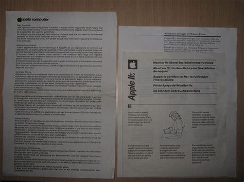 apple guarantee apple iic box manuals warranty card nightfall blog