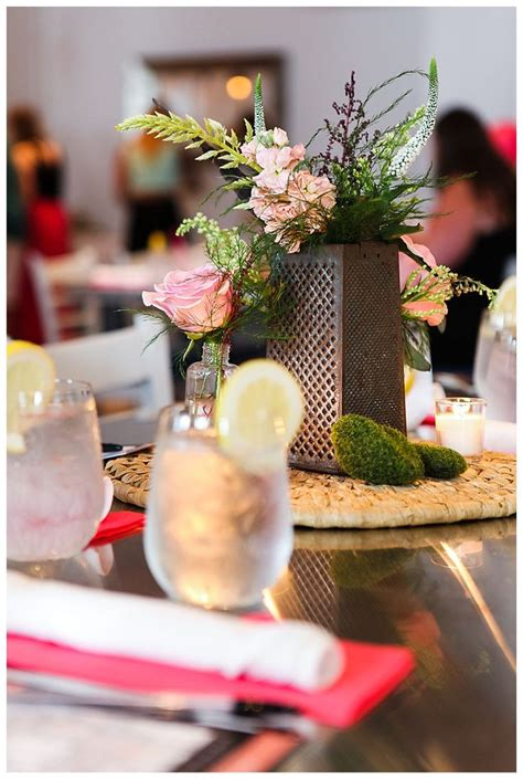 kitchen themed bridal shower centerpieces ami s bridal shower b r i d a l s h o w e r