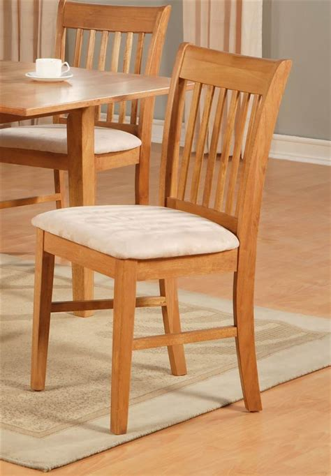 norfolk upholstered dining chair set of 2 express home