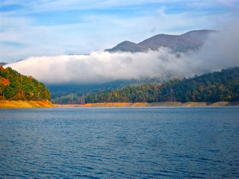 living on a boat in the great lakes bill s tn paradise fontana lake october 2011