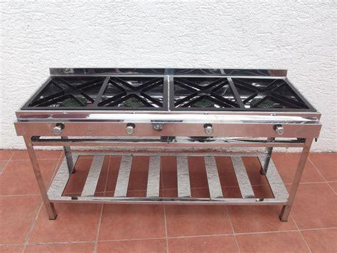 precio cocina industrial cocina industrial 4 quemadores u s 280 00 en mercado libre