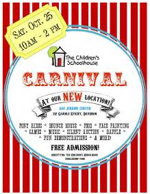 free school flyer templates best photos of blank carnival flyer template free