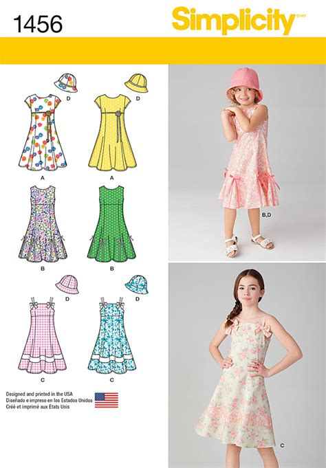 pattern review hot patterns simplicity 1456 child s and girls dress with bodice