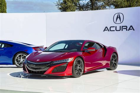 2016 acura nsx carbon options