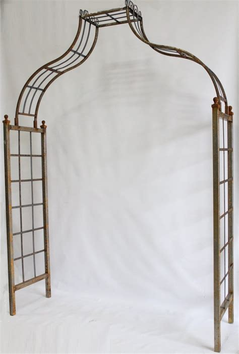 Handmade Wrought Iron - handmade wrought iron noah arbor made wider
