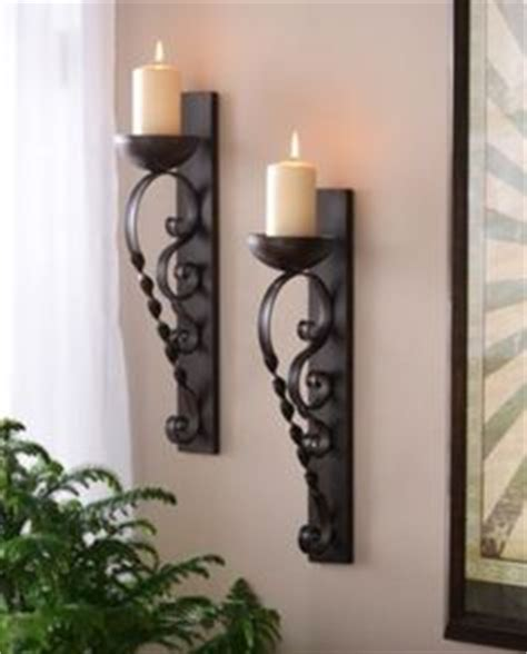 candle wall sconces for living room wrought iron wall decor pair of wrought iron candle