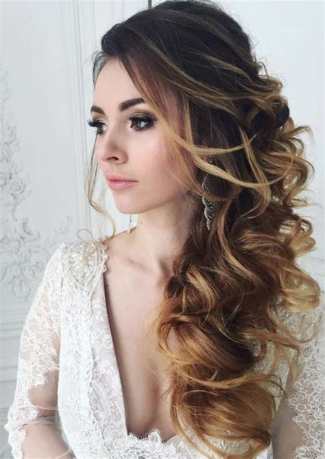 25 beautiful side hairstyles ideas on side hair styles wedding hair side and side