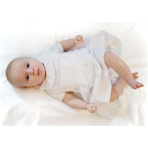 Ccs Baby Set coco bib skirt white childrens outlet