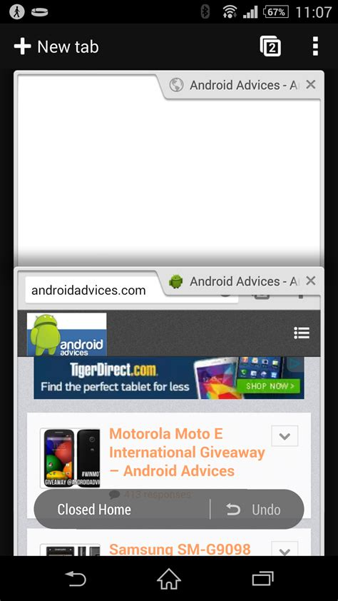 chrome tabs android faster better chrome beta for android