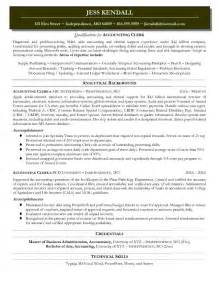 best sle accounting resume resume sles