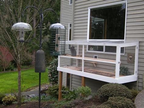 cat patio catio spaces helps cat owners build safe outdoor havens for their feline friends iheartcats