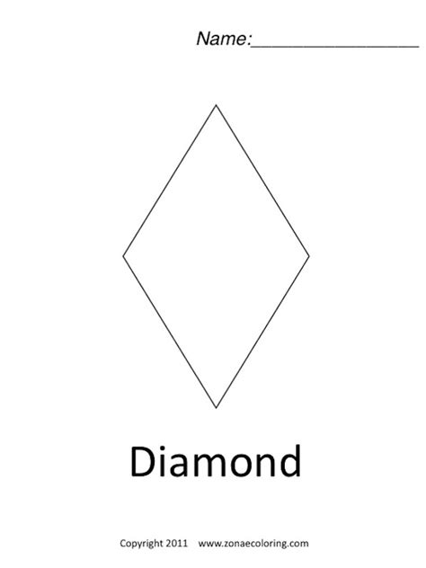 diamond coloring pages preschool best photos of diamond coloring pages for preschoolers