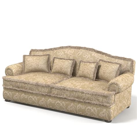 Traditional Classic Sofa by Max Ceppi Classic Sofa