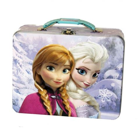 888 Lunch Box disney frozen metal tin lunchbox 40 pieces in stock