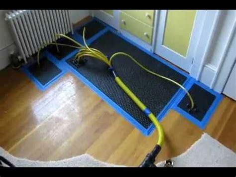hardwood floor drying how to repair and hardwood floor water damage