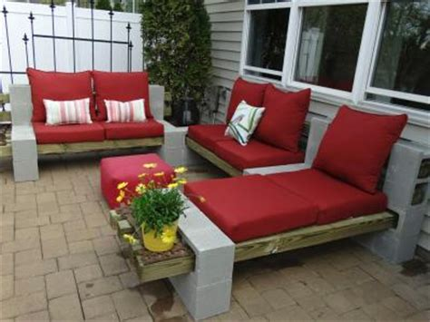 Combine 3 Love Seat Sofas Make One A Chaise If You Want Cinder Block Patio Furniture