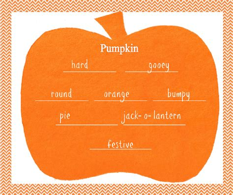 pumpkin poems with a faithful ones learning pumpkin poems