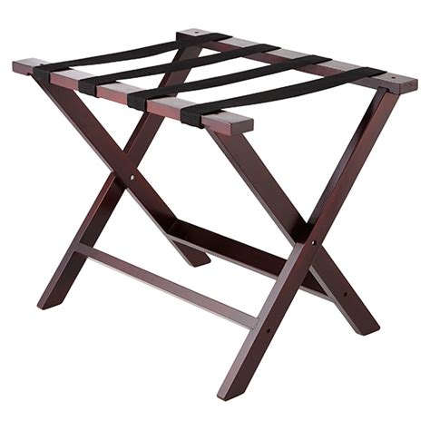 luggage rack ikea solid wood luggage rack the container store