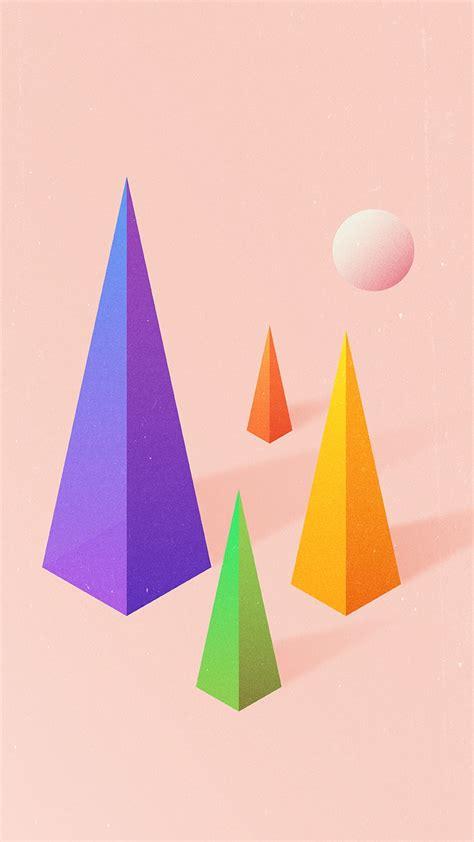 Triangle Blocks triangle blocks digital iphone wallpaper iphone