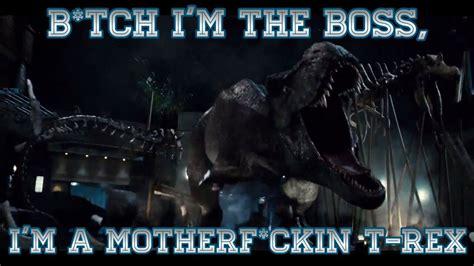 Jurassic Park Meme - jurassic world tyrannosaur meme p1 by ixzidian2031 on