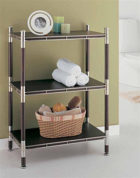 bathroom racks and shelves metro chrome 4 tier shelf