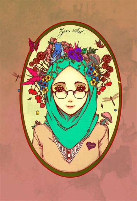 wallpaper animasi jilbab 194 best images about l cartoonmuslimah l on pinterest