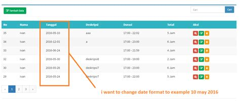 Format Date Using Carbon | php change date format laravel 5 stack overflow