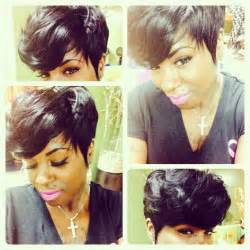 can you sew in extensions in a pixie hair cut weave pixie hairstyle pixie cuts short cuts pinterest