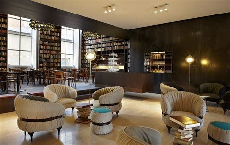 Best Private Dining Rooms In Nyc Library Lounge B2 Boutique Hotel Zurich Book Patrol