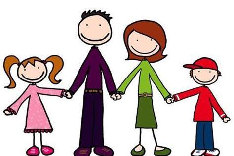 imagenes de una familia en blanco y negro imagenes de la familia en dibujos animados divertidos