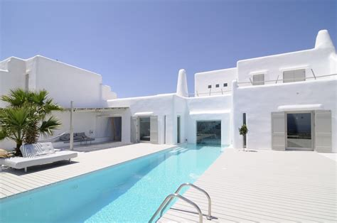 minimal modern summer house in paros cyclades greece