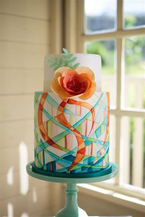 Modern Wedding Cakes by Simply Modern Wedding Cakes By Lindy Smith Lora Murphy