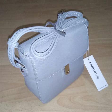 Miniso Sling Bag Bag miniso grey sling bag s fashion bags wallets on