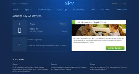 sky go mobile devices how to add remove and change devices on sky go expert