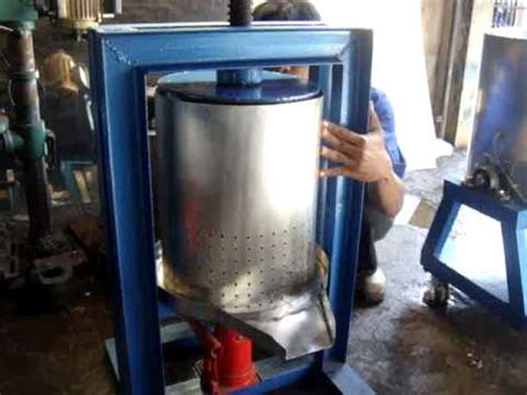 Mesin Cuci Zero Press press hidrolis mesin pembuat sari buah