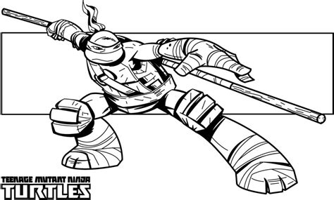 free teenage ninga turtles coloring pages