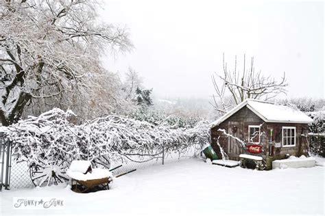 Summer Gardening - a merry christmas winter wonderland shedfunky junk interiors