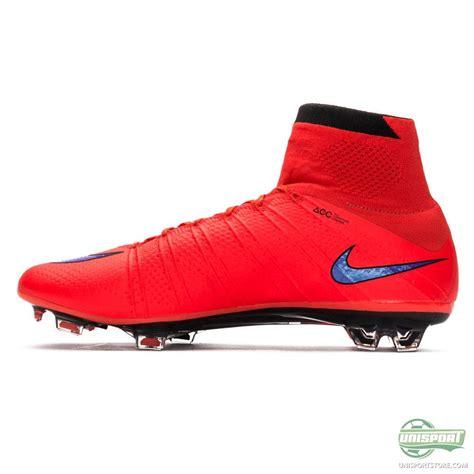 Nike Mercurial Superfly Fg Bright Crimson Flyknit nike mercurial superfly fg bright crimson violet black www unisportstore