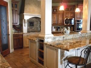 Kitchen Islands With Columns Kitchen With Island Columns Craftsman Kitchen